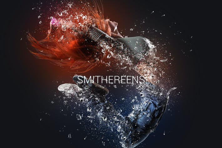 Thumbnail for Smithereens Photoshop Action