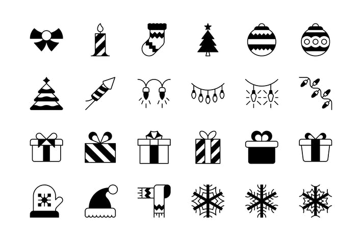Cover Image For 47 Christmas icons