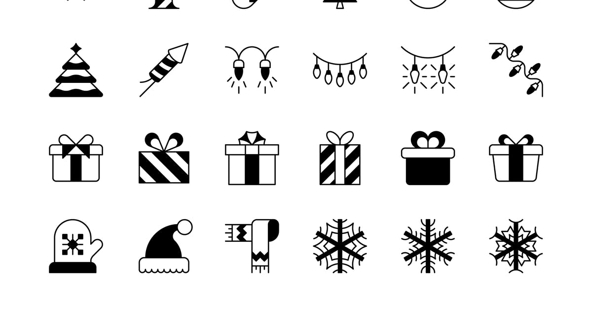 Download 47 Christmas icons by Unknow