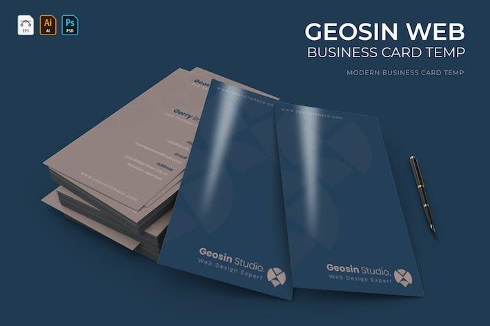 Geosin Web | Business Card