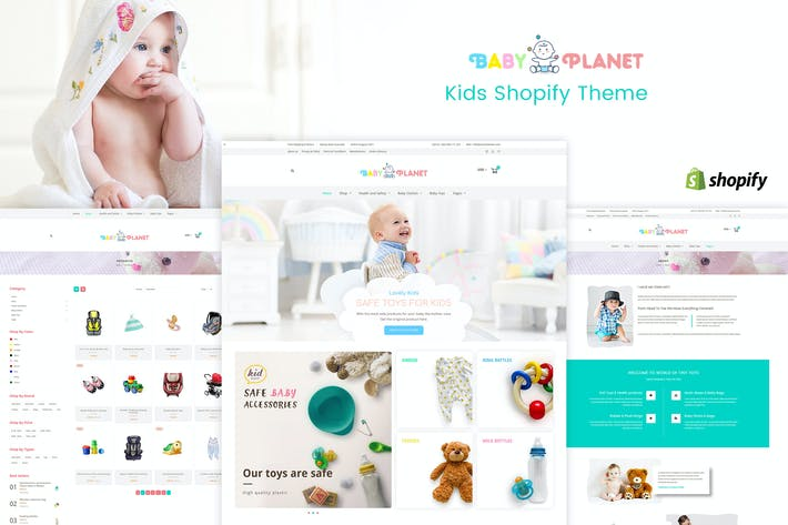Thumbnail for Baby Planet | Kids Toys & Responsive Shopify Theme
