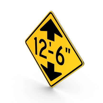 Low Clearance Road Sign