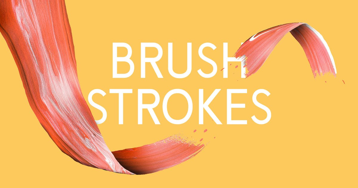 Download 10 Artsy Paint Brush Strokes by WildOnes