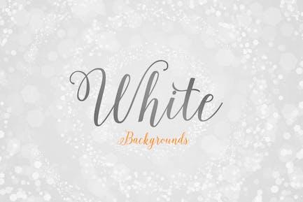 Weiße abstrakte Hintergründe