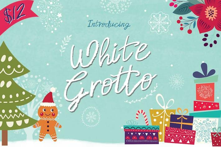 Thumbnail for White Grotto Font