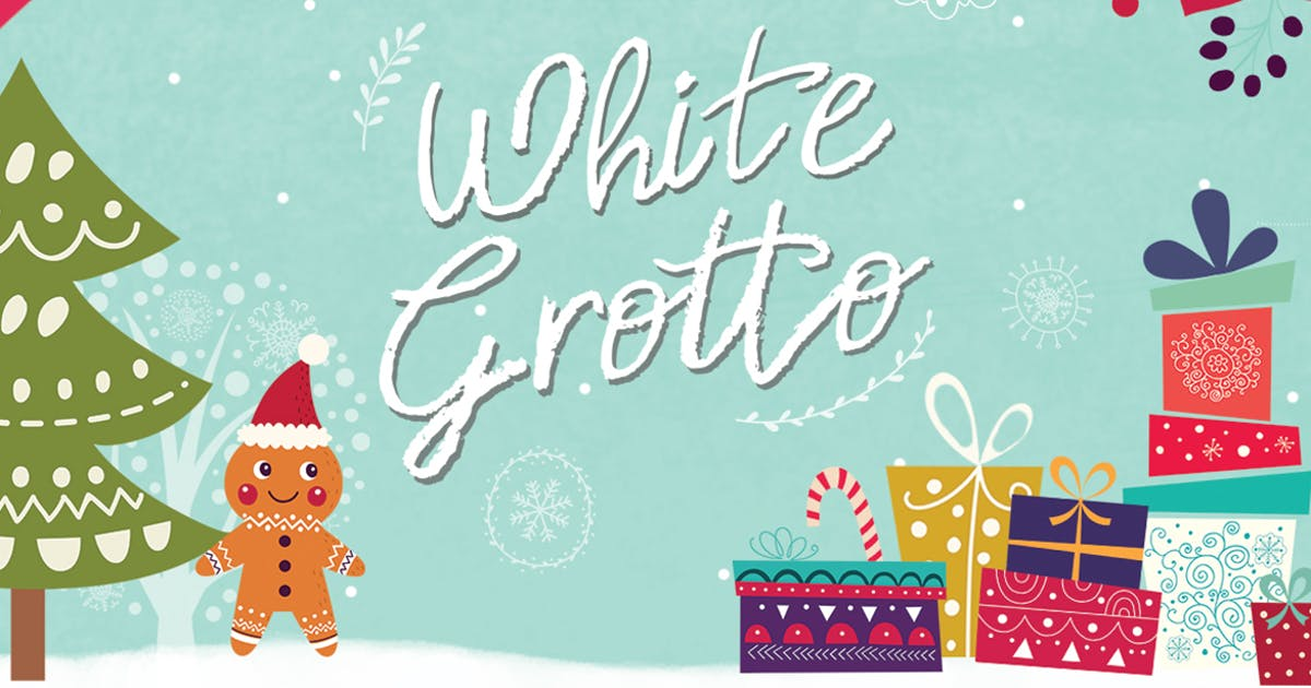 Download White Grotto Font by maroonbaboon