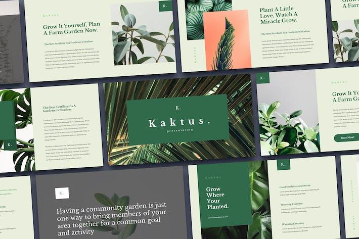 Thumbnail for Kaktus - Elegant Powerpoint Template