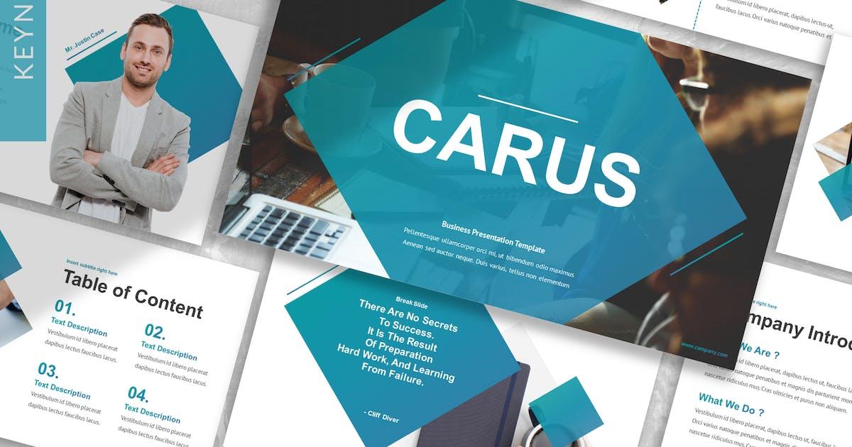 Download Carus - Business Keynote Template by designesto