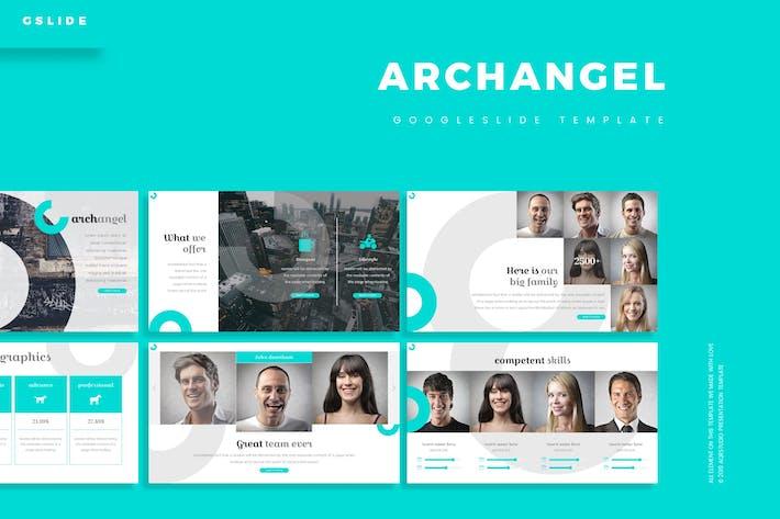 Cover Image For Archangel - Google Slide Template