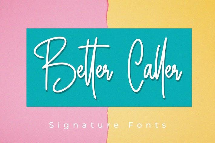 Thumbnail for Better Caller