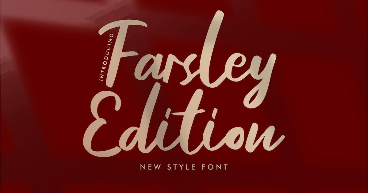 Download Farsley Edition New Style Font by Fannanstudio