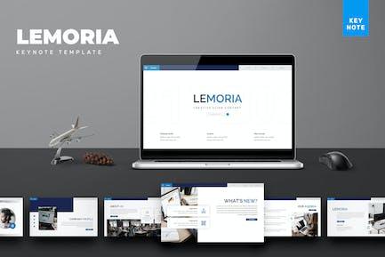 Lemoria - Business Keynote Template