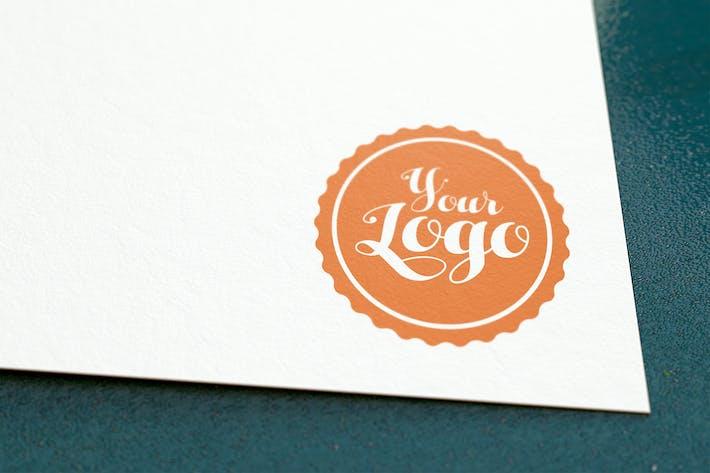 Thumbnail for Logo papier Mockup 001