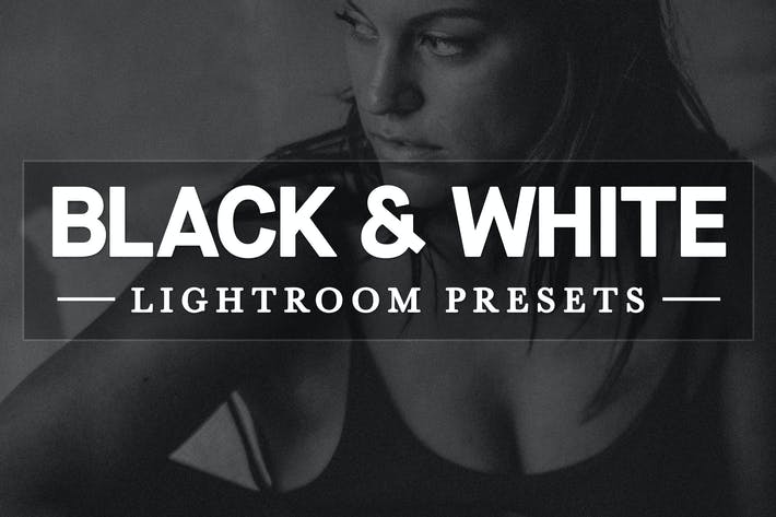 Thumbnail for Black and White Lightroom Develop Presets