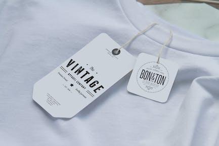 Clothing Label Mockup