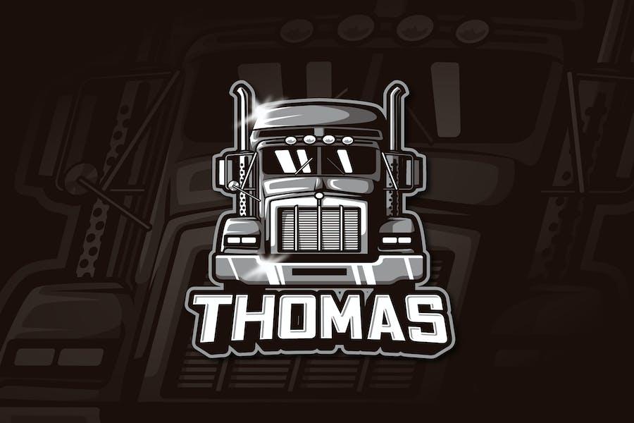THOMAS - Mascot & Esports Logo