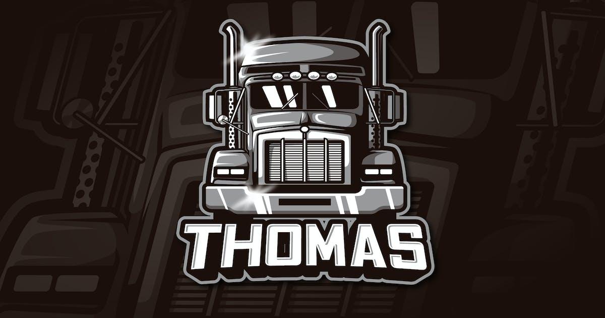 Download THOMAS - Mascot & Esports Logo by aqrstudio