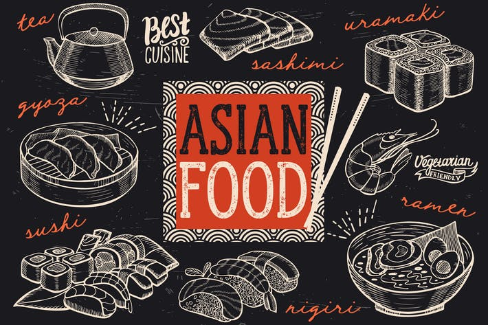 Thumbnail for Asian Food Elements