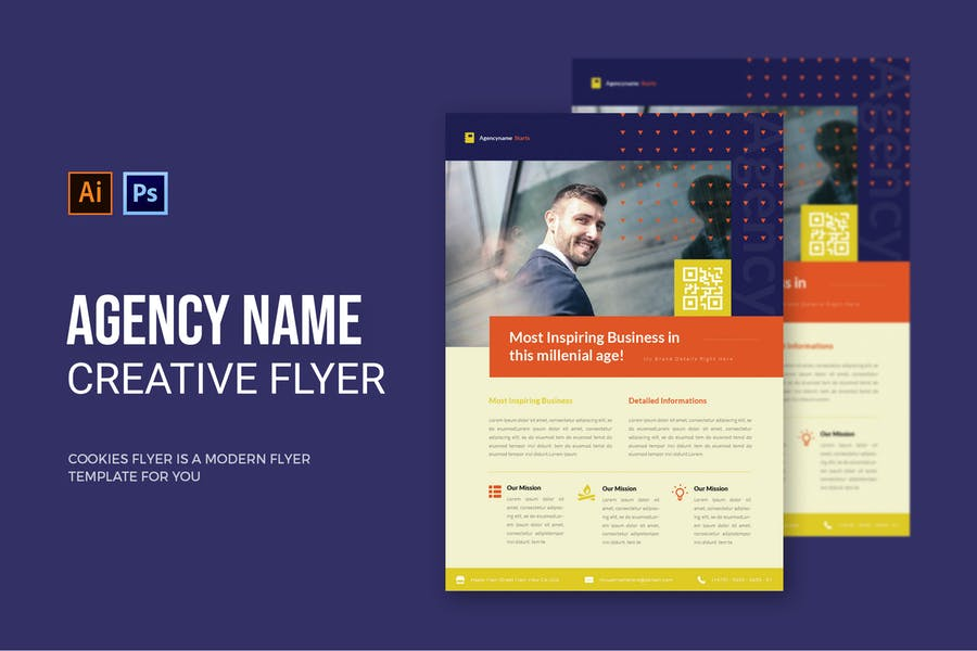 Agency Name - Flyer