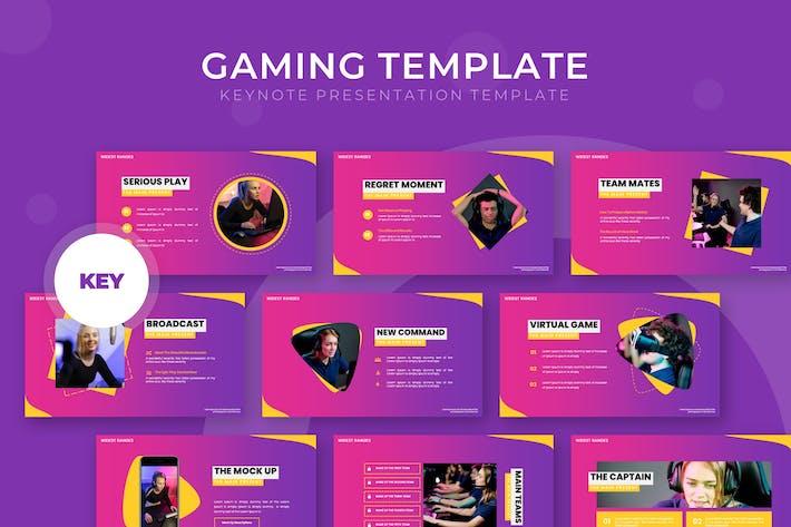Gaming - Keynote Template