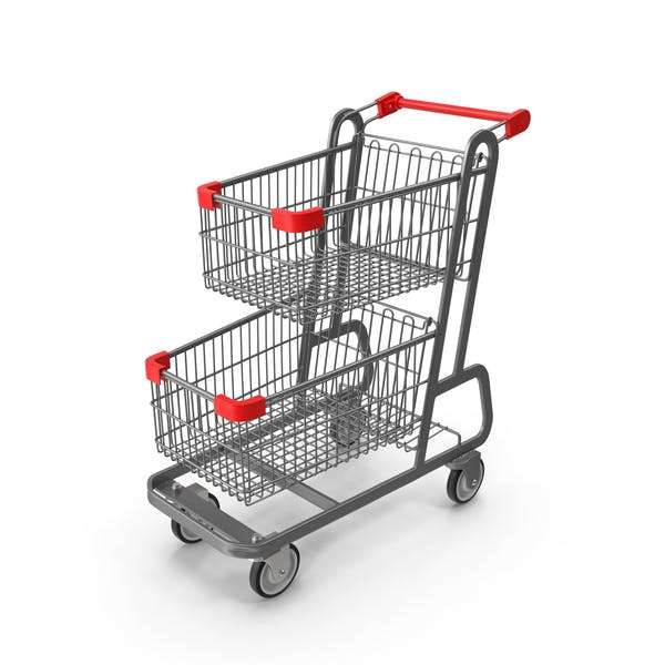 Cover Image for Metal Shopping Cart