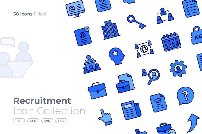 Thumbnail for Recruitment Filled Icon