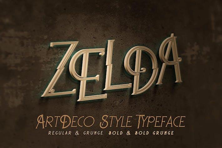 Thumbnail for Zelda - Fuente ArtDeco