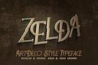 Zelda - ArtDeco Font