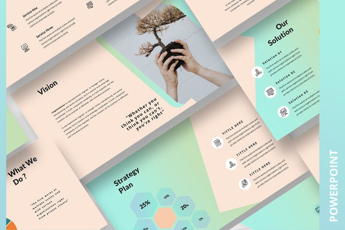 Thumbnail for Syndicale PowerPoint Template