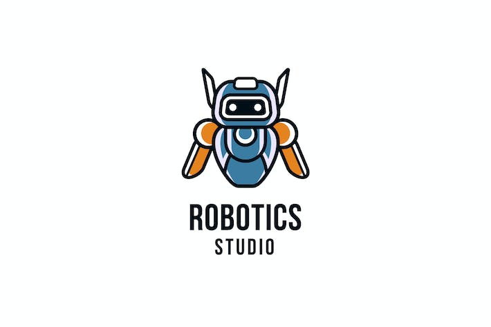 Thumbnail for Robotics Studio Logo Template