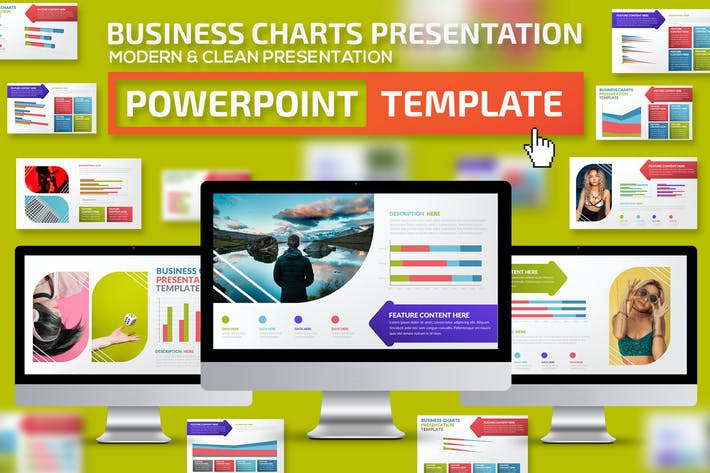 Thumbnail for Business Charts Powerpoint Presentation