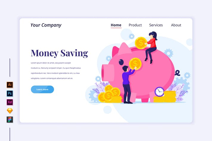Thumbnail for Investment Flat Illustration - Agnytemp