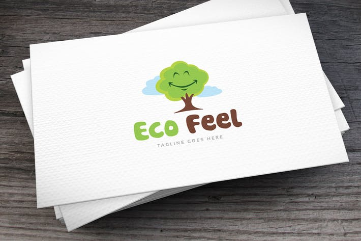 Thumbnail for Eco Feel Logo Template