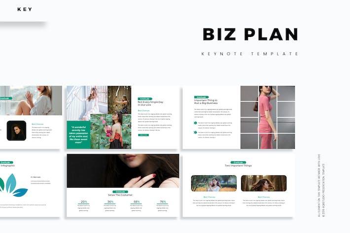 Thumbnail for Biz Plan - Keynote Template