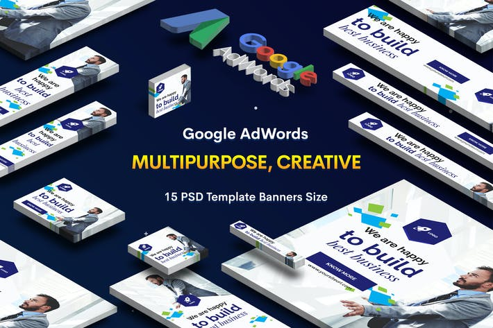 Thumbnail for Multipurpose, Corporate Banners Ad