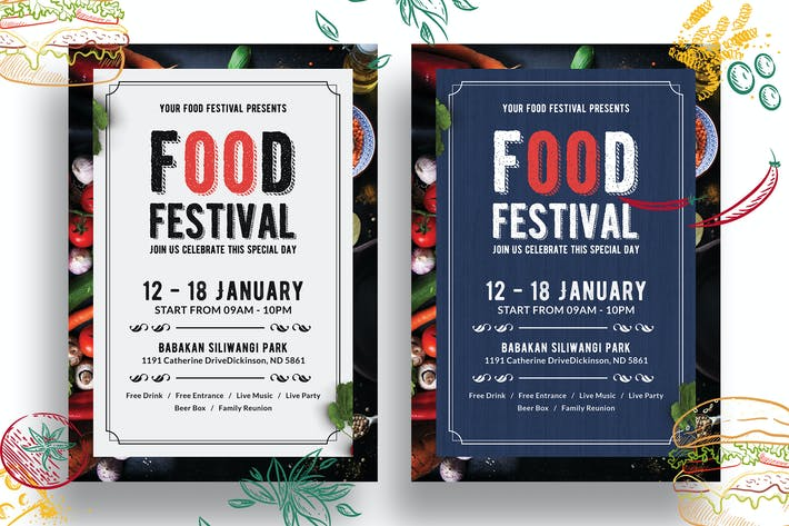 Thumbnail for Food Festival Flyer-01
