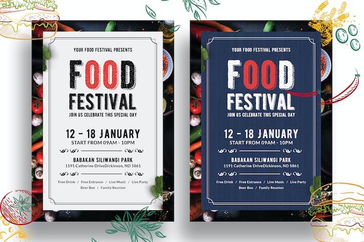 Thumbnail for Food Festival Flyer-01