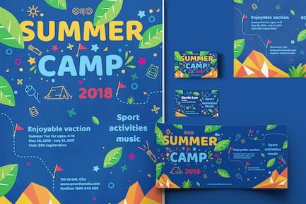 Kids Summer Camp-Set Template