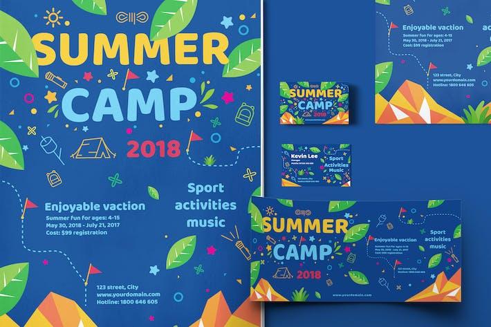 Thumbnail for Modèle de camp d'été pour enfants