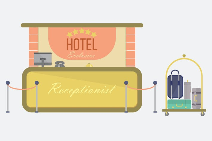Thumbnail for Hotel - Illustration Background