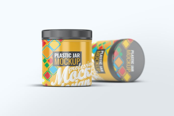 Thumbnail for Plastic Jar Mock-Up