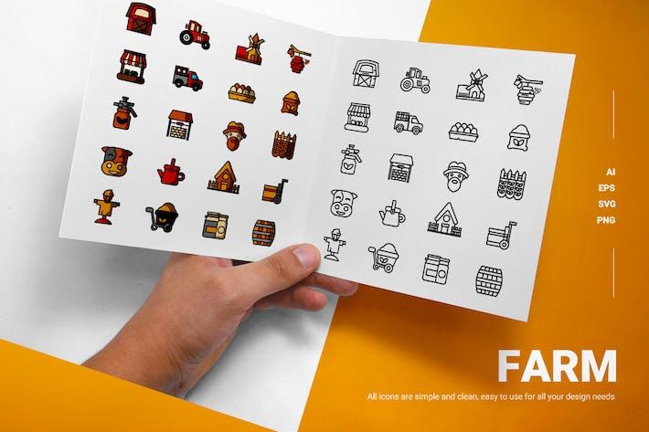 Bauernhof - Icons
