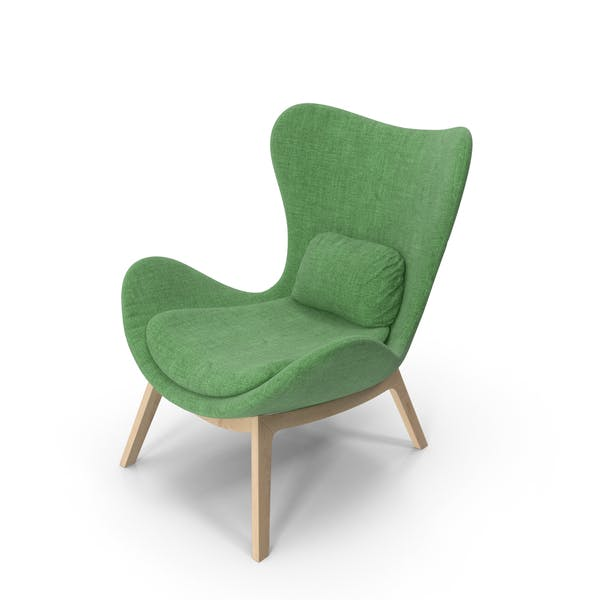Thumbnail for Green Armchair