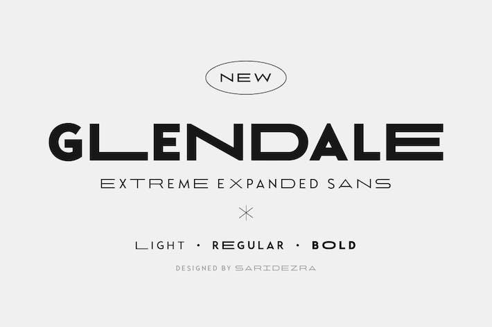 Glendale - Extreme Expanded Sans