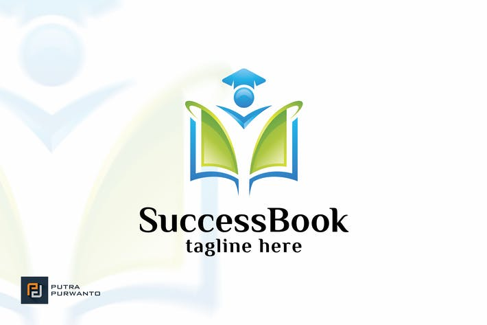 Cover Image For Success Book - Logo Template