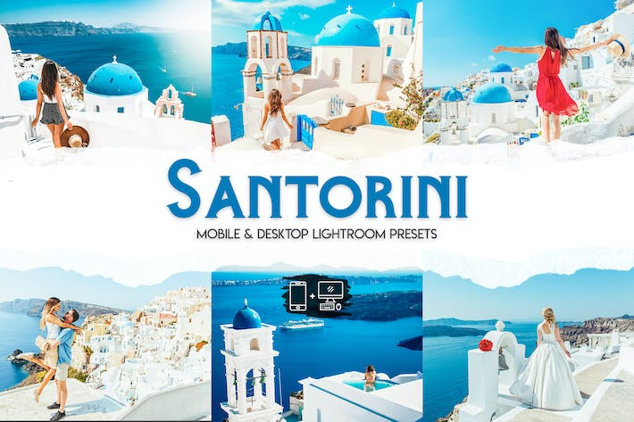 Thumbnail for Santorini Lightroom Presets