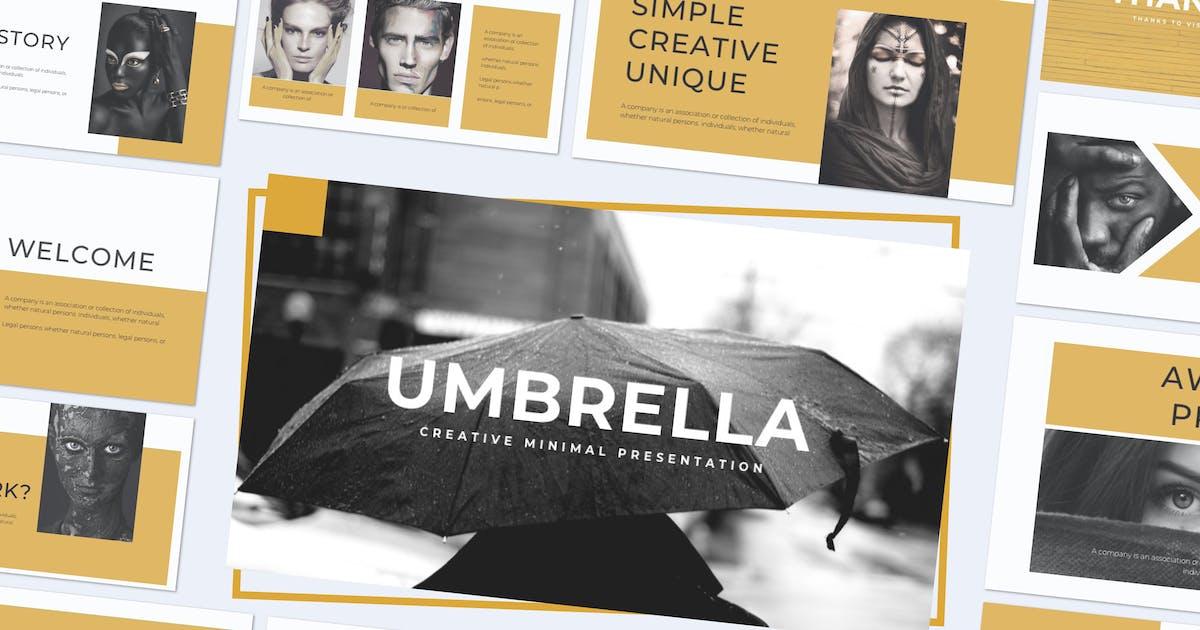 Download UMBRELLA - Keynote Template by indotitas