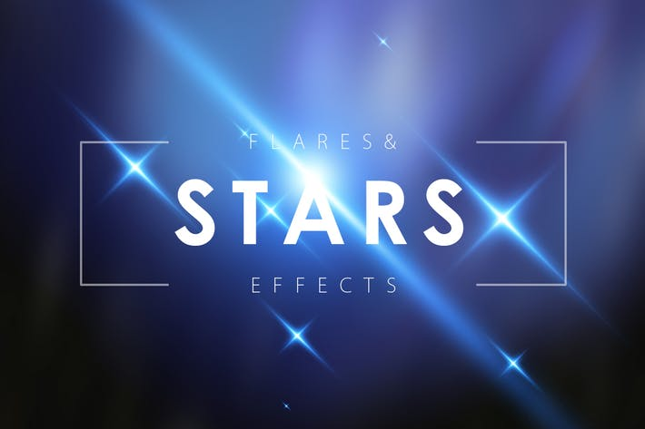 Thumbnail for Lens Flare & Stars Effects