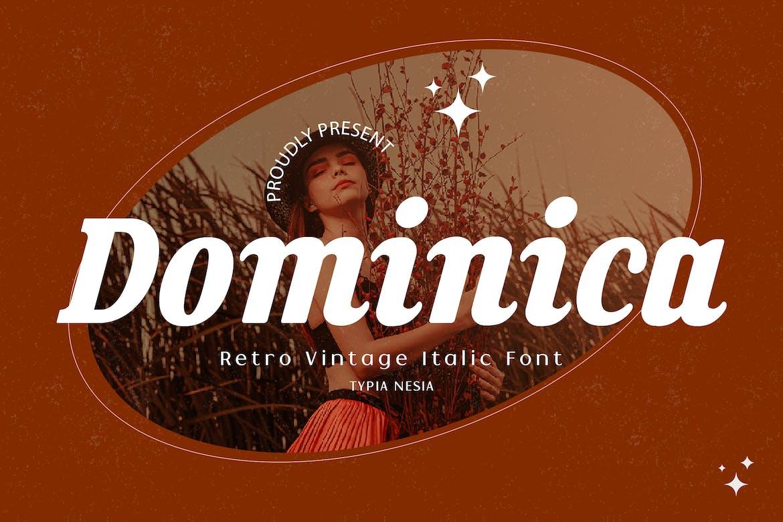 Dominica---Bold-Italic-Retro-Vintage