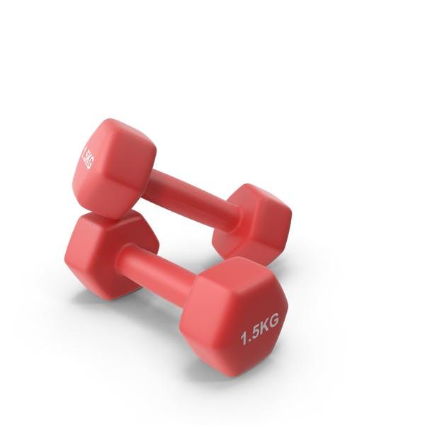 Fitness Dumbbells 1.5kg